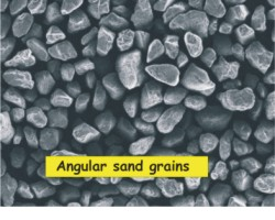 Angular Sand Grains